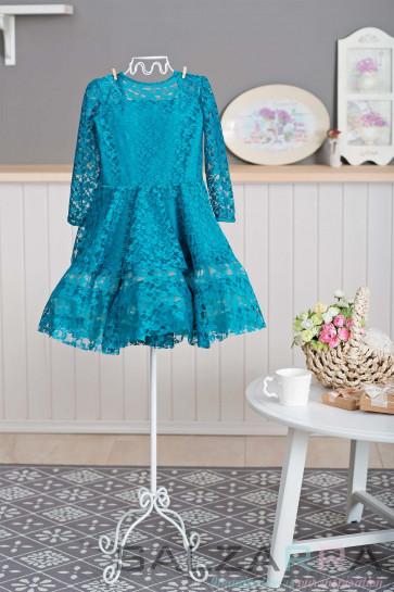 """Детска рокля """"Мечтата на Алиса"""" - 1"""