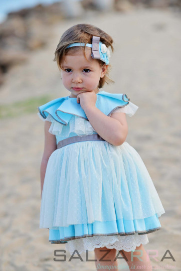 """Детска рокля """"Синева"""""""