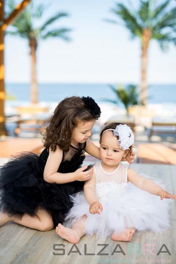 """Детска рокля """"Черна роза"""" 3"""