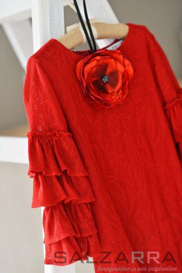 """Детска рокля """"Фламенко"""" - 2"""