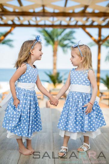 """Детска рокля """"Романтичната Ива"""""""