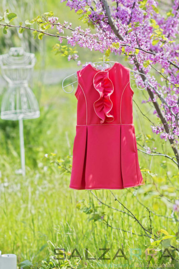 "Детска рокля ""Пролетна усмивка на Маги""-1"