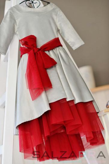 """Детска рокля - """"Сребърна приказка"""""""