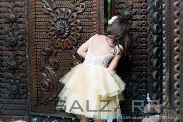 """Детска рокля """"Ванилова целувка за Нел"""" -2"""