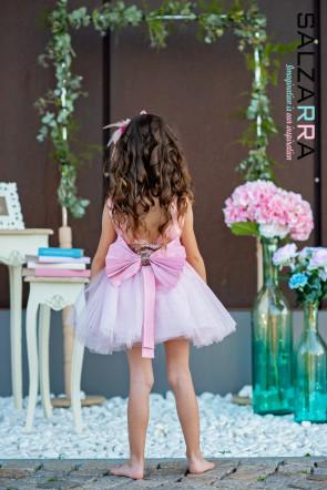 """Детска рокля """"РОЗОВА ПРЕЛЕСТ"""" 1"""