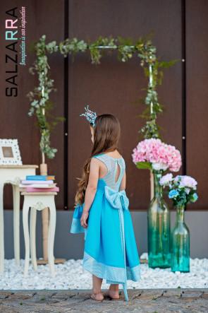 """Детска рокля """"МОРСКА СИРЕНА"""" 4"""