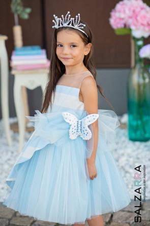 """Детска рокля """"ШЕПОТ НА ВЪЛНИ"""" 4"""