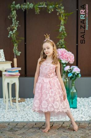 "Детска рокля ""РОЗОВА ГРАДИНА"" 2"