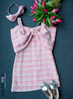 "Детска рокля ""Розова лилия"" 1"