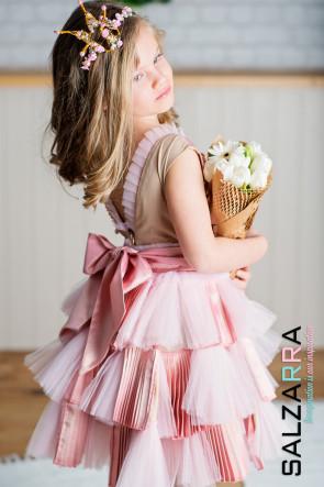 "Детска рокля ""РОЗОВА ГАРДЕНИЯ"" 1"