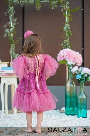 """Детска рокля """"НЕЖНА МИМОЗА"""" 5"""