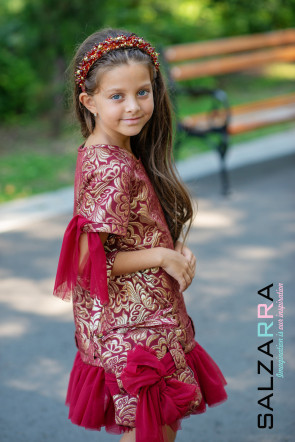 """Детска рокля """"ПЕРСИЙСКА ПРИКАЗКА"""" 2"""