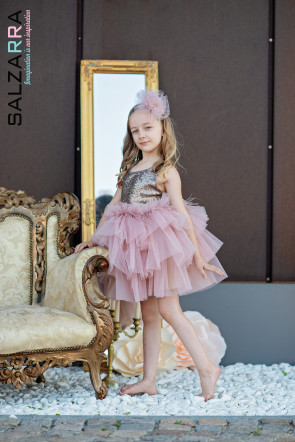 """Детска рокля """"КЛЕМЕНТИНА"""" 1"""