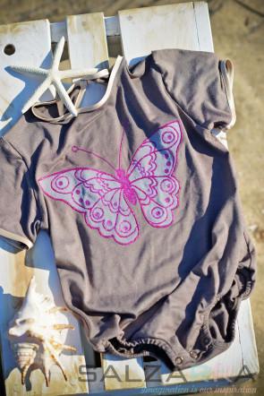 """Детско боди """"Вълшебна пеперуда"""""""