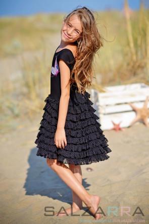 """Детска рокля """"Лятната нощ на Емили"""""""