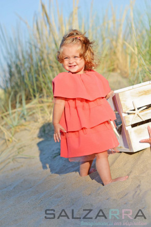 "Детска рокля ""Розово облаче"""