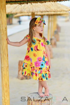 "Детска рокля ""Лятна магия"" 2"