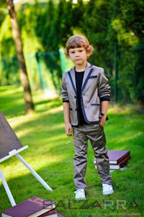 "Детско сако и панталон ""Принцът на шоколада"" - 1"