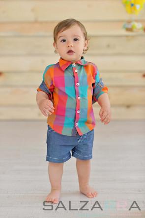 """Детска риза """"Пъструшко"""""""