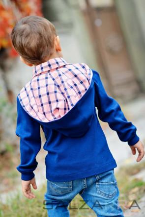 """Детска риза-суичър """"Ваканция на село"""""""