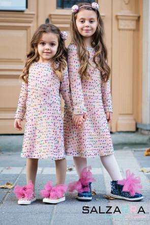 """Детска рокля """"ПОМПОНИ"""" 3"""