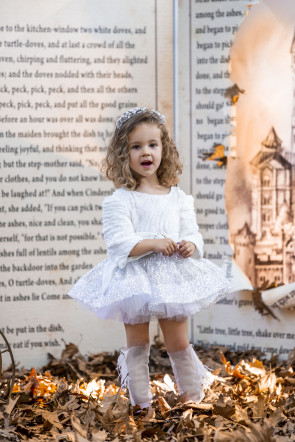 "Детска рокля ""СЕВЕРНО СИЯНИЕ"" 2"