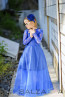 "Girl dress ""Jeny's blue dress"" 3"