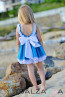 "Girl Dress ""Forget-me-not"" - 2"