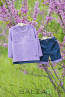 "Set ""TOMMY"" – in purple and dark blue - 3"