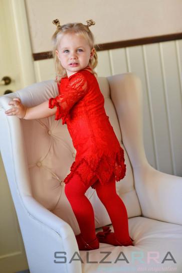 "Детска рокля ""Коралова мечта"" - 3"