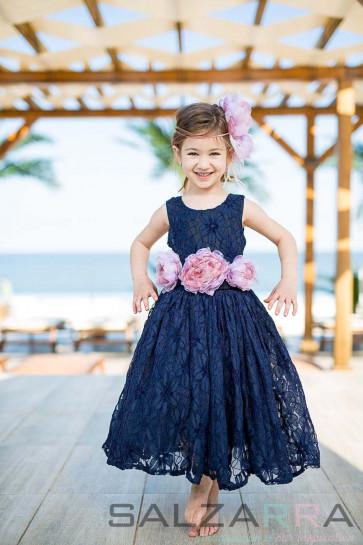 "Детска рокля ""Вечерна серенада"" 1"