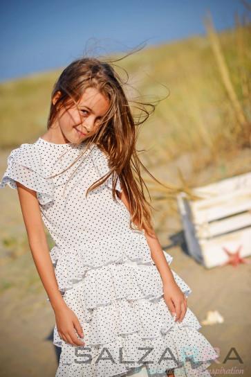 """Детска рокля """"Сърчица за Моника"""" - 4"""