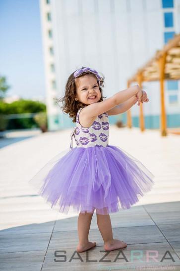 "Детска рокля ""Целувки за Рая"""