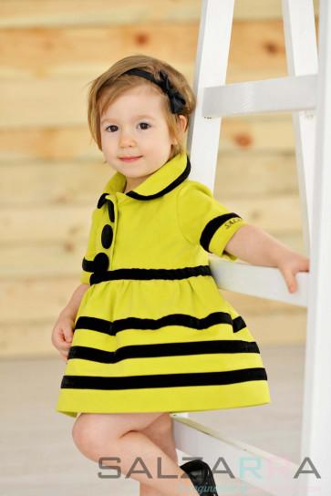 """Детска рокля """"Пиерета"""""""