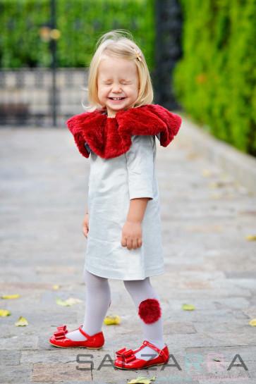 "Детска рокля ""Сребърно звънче"" - 1"