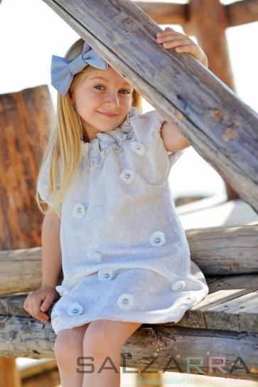 """Детска рокля """"Сребрина"""" 2"""