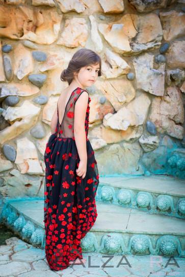 """Детска рокля """"Испанска мелодия за Силвия"""" - 2"""