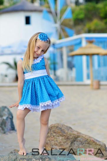"Детска рокля ""Незабравка"" 2"