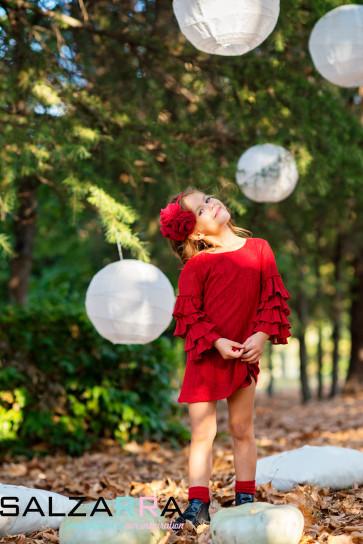 """Детска рокля """"Фламенко"""" - 4"""
