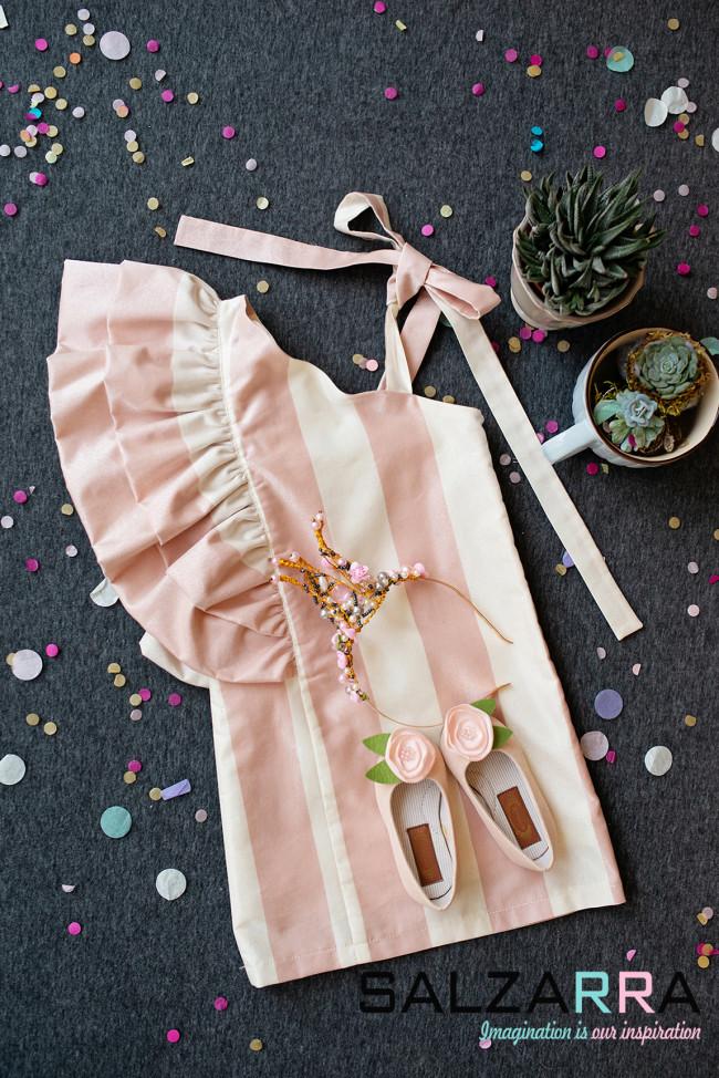 "750c3a9c828 Детска рокля ""Розова перла"" Salzarra"