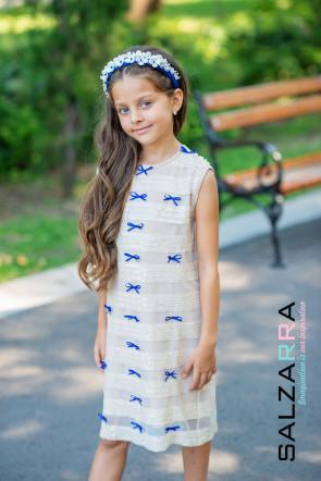 """Детска рокля """"СЛЪНЧЕВИ ЛЪЧИ"""" 1"""