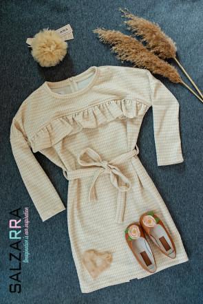 "Детска рокля ""ЗЛАТНА РОЗА"" 2"
