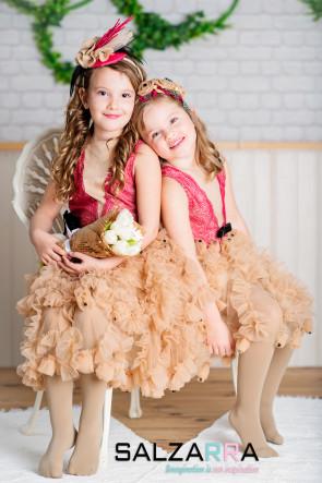 "Детска рокля ""ПЕРСИЙСКА РОЗА"" 1"