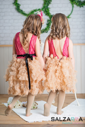 """Детска рокля """"КАРНАВАЛ"""" 1"""