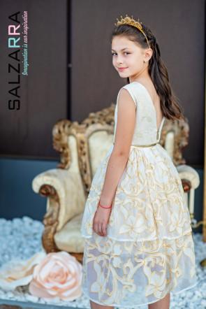 """Детска рокля """"ЗЛАТНА ЛИЛИЯ"""" 1"""