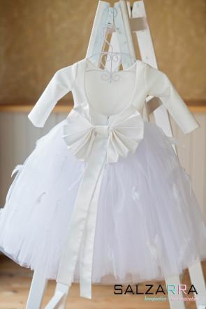 "Детска рокля ""БЯЛА ПТИЦА"""