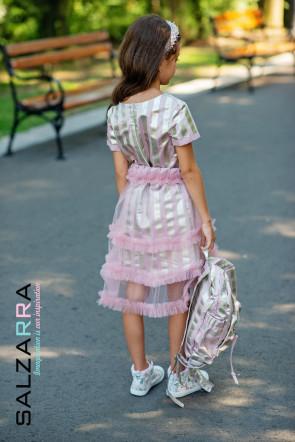 """Детска рокля с пола """"ЛОРЕТА"""" 5"""