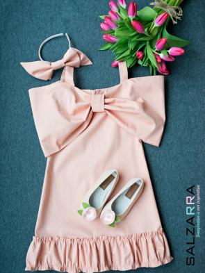 """Детска рокля """"Водна лилия"""" 1"""