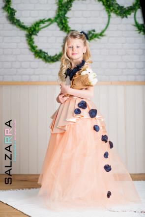 """Детска рокля """"БАРОНЕСА"""" 1"""