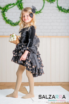 "Детска рокля ""ЧЕРЕН ЛЕБЕД"" 1"
